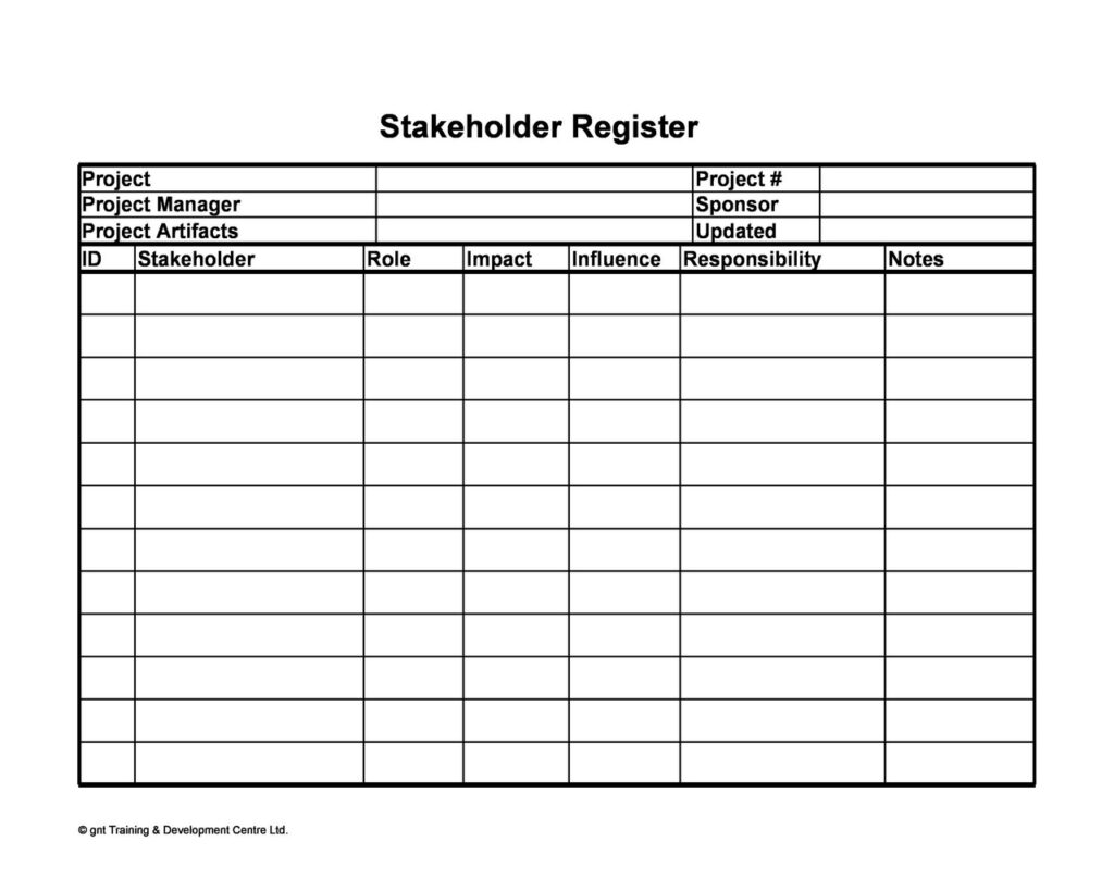 Stakeholder Analysis Example 22