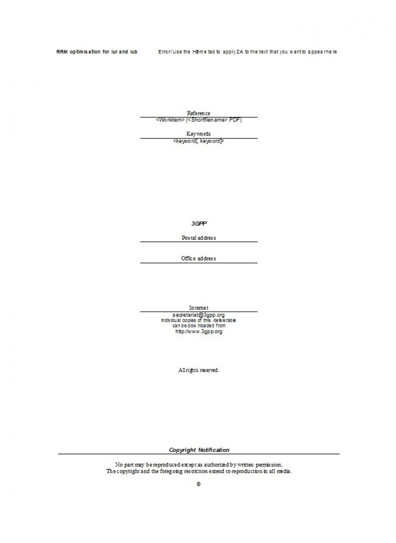Technical Report Template 04
