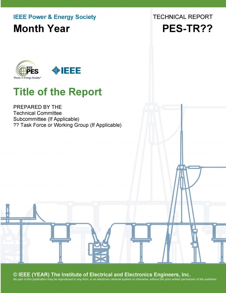 Technical Report Template 05