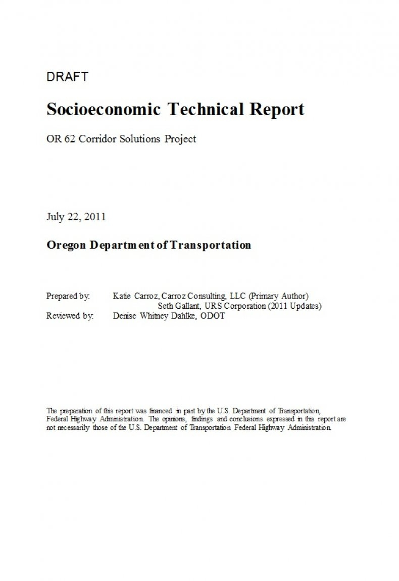 Technical Report Template 18