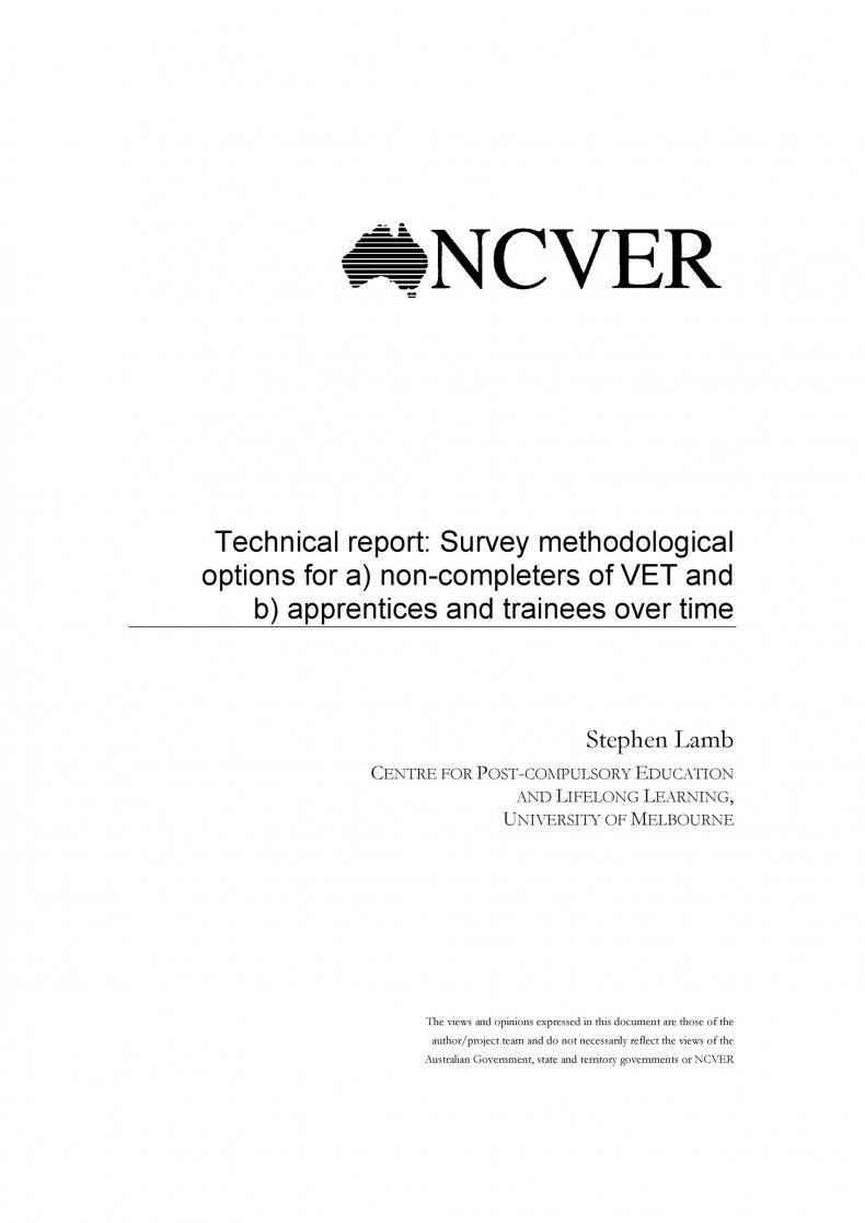 Technical Report Template 19