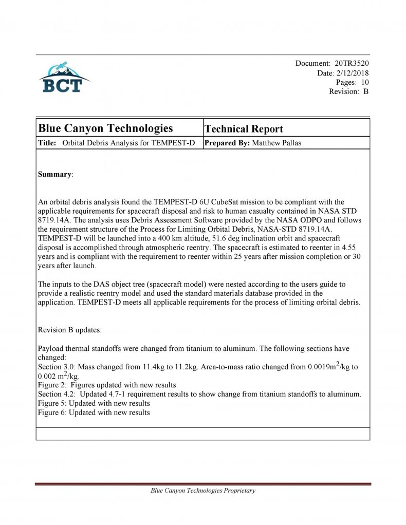 Technical Report Template 45
