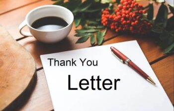 Thank You Letter Images