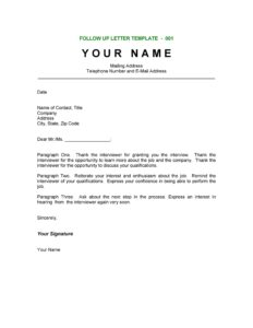 Thank You Letter Template 21