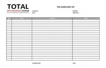 asset list 02