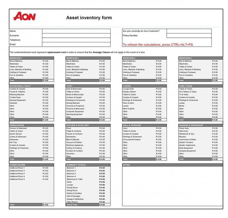 asset list 06