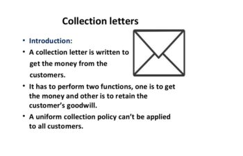 collection letter image