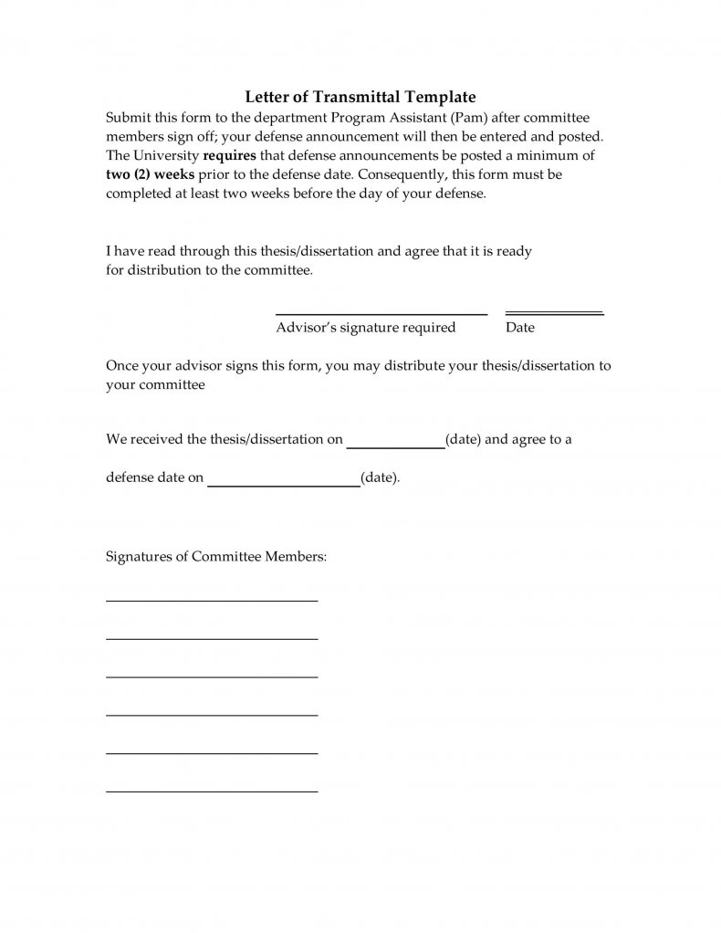 letter of transmittal example 28