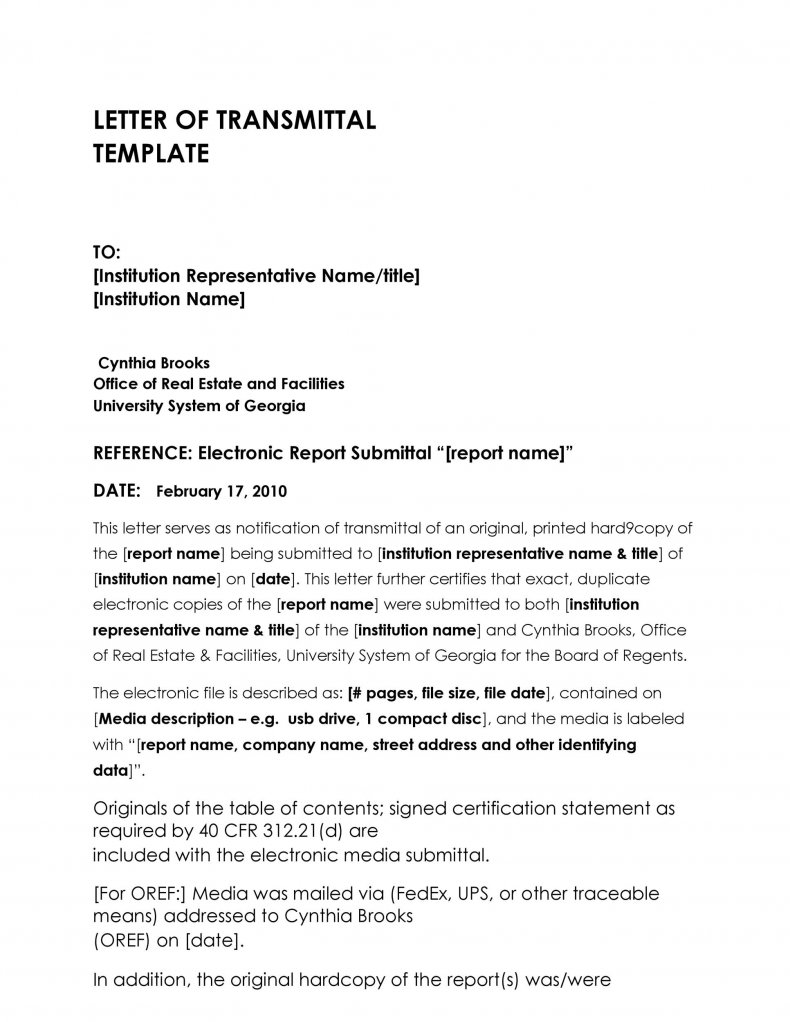 letter of transmittal template 09