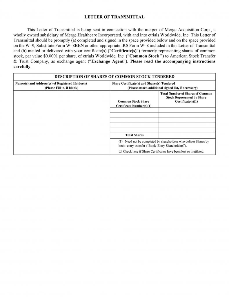 letter of transmittal template 12