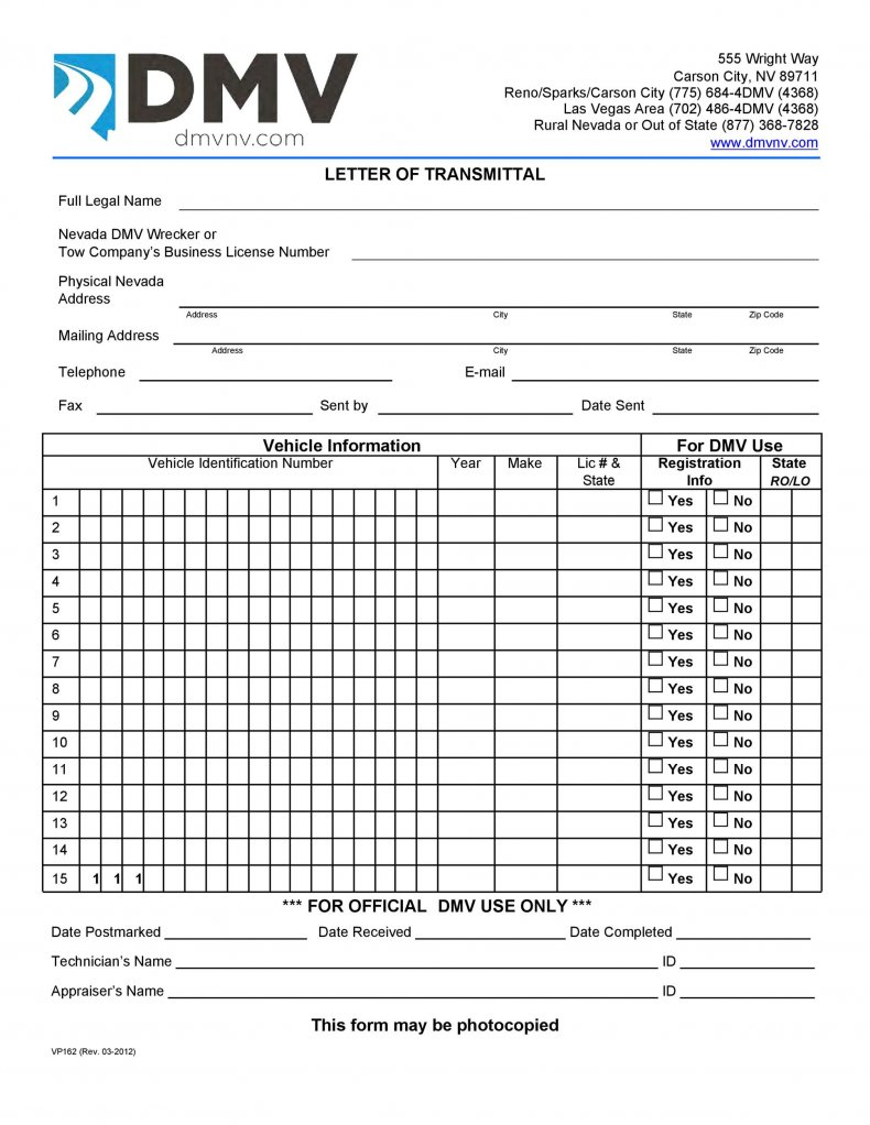 letter of transmittal template 17