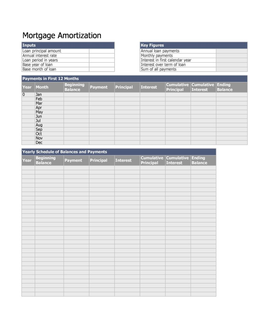 loan amortization schedule template 06