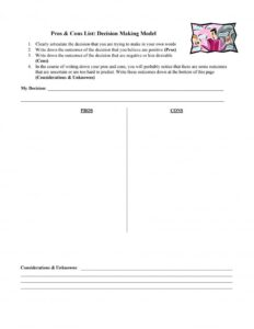 pros and cons list template 08
