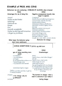pros and cons list template 09