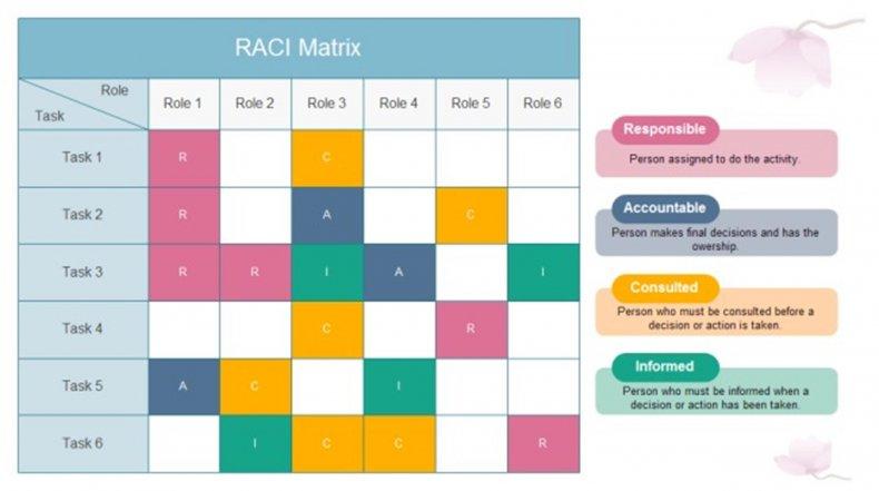 raci chart example 20