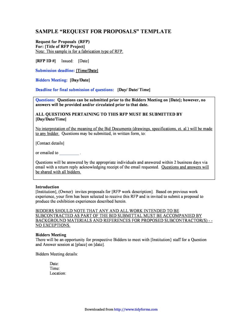 request for proposal letter 05