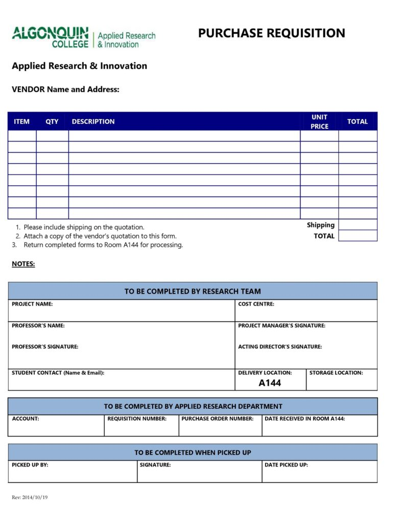 requisition form 28