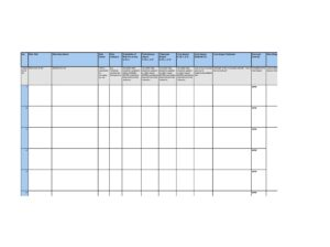 risk register template 25