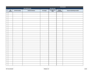 risk register template 51
