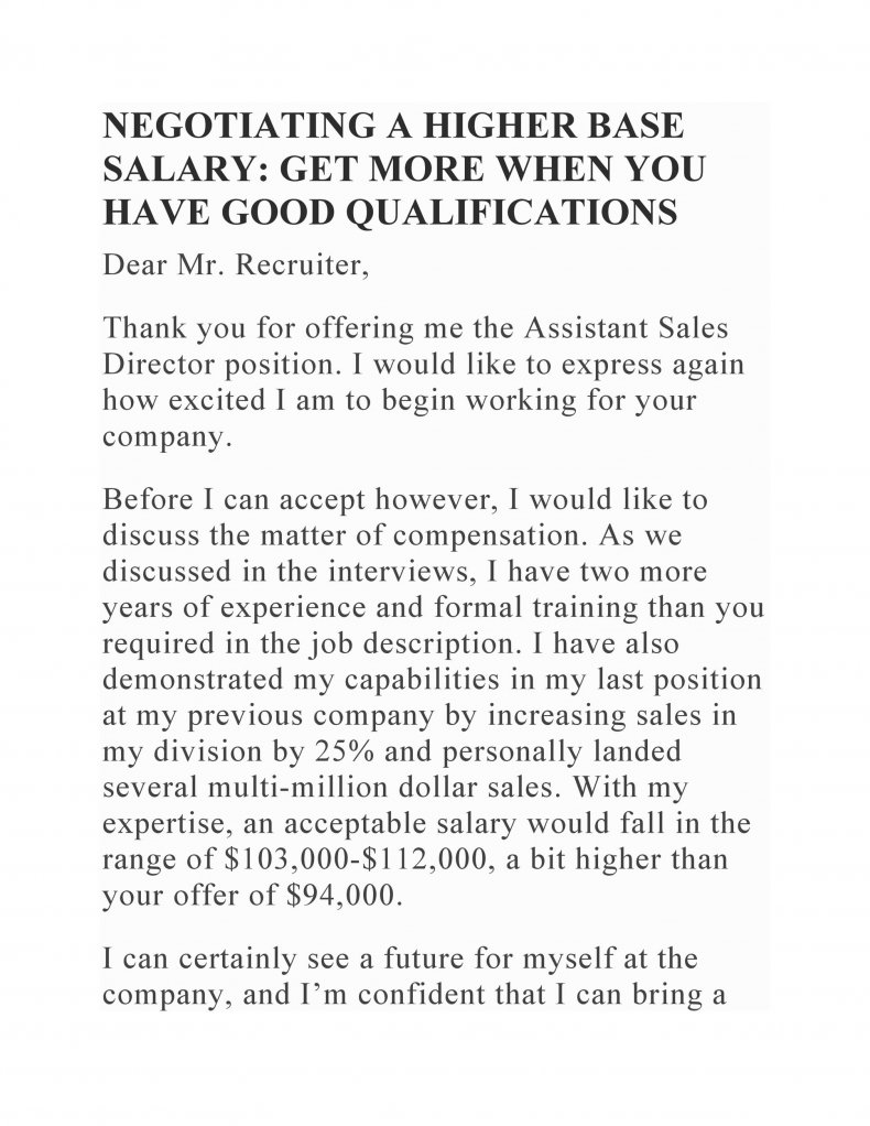 salary negotiation letter sample 04