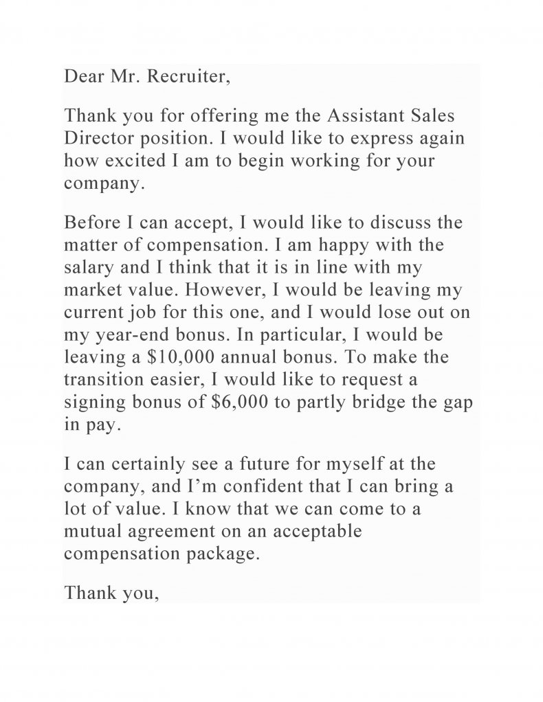salary negotiation letter sample 06