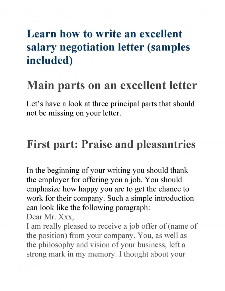 salary negotiation letter sample 10