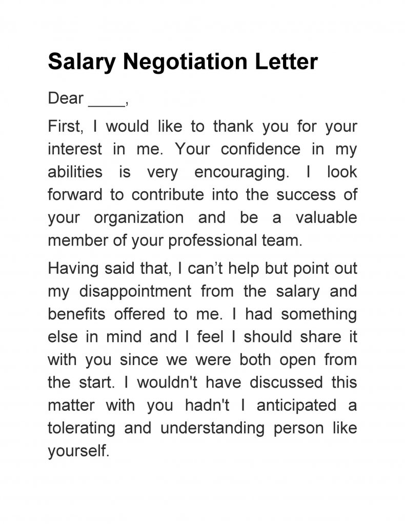 salary negotiation letter sample 12