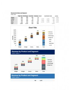 waterfall chart template 35