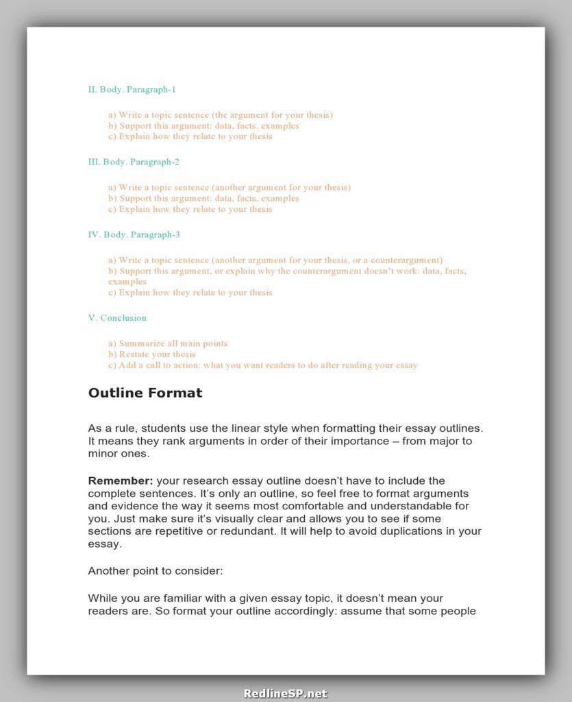 College Essay Examples 22