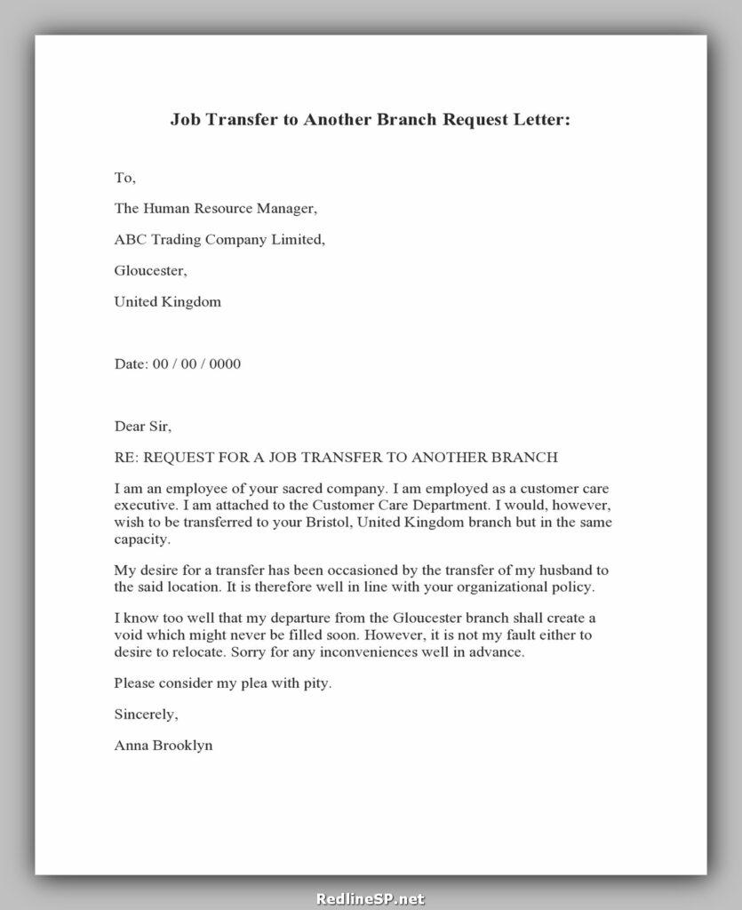 Job Transfer Letter 02