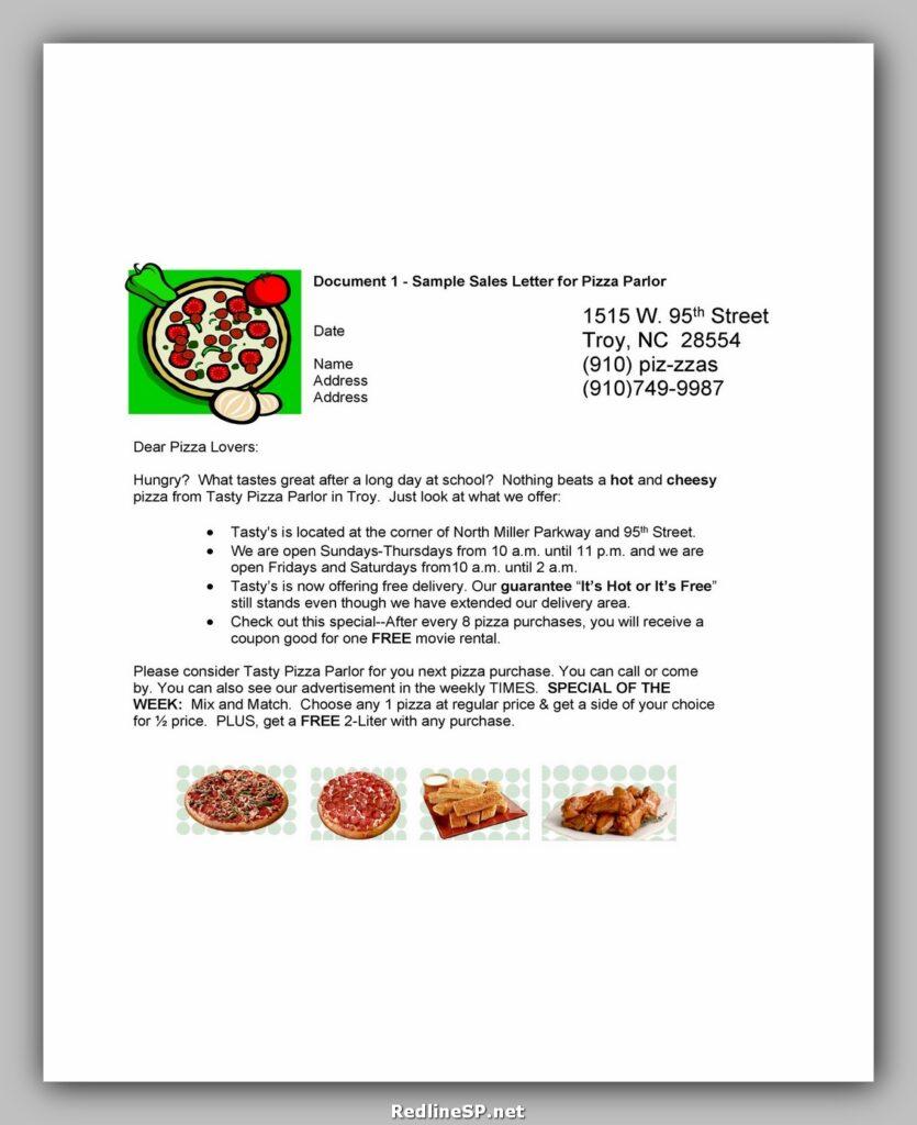 Sales Letter 02