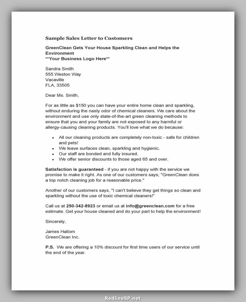 Sales Letter 10