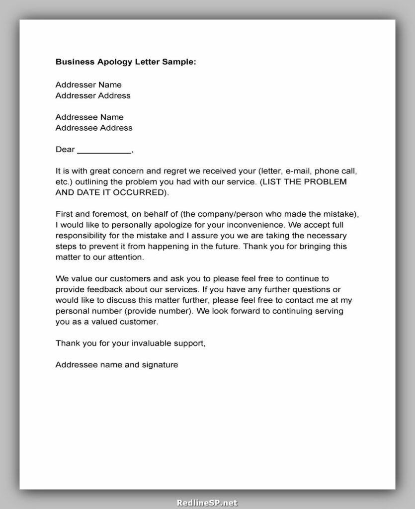apology letter 031