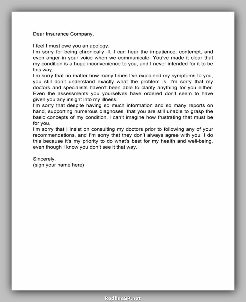 apology letter template 20