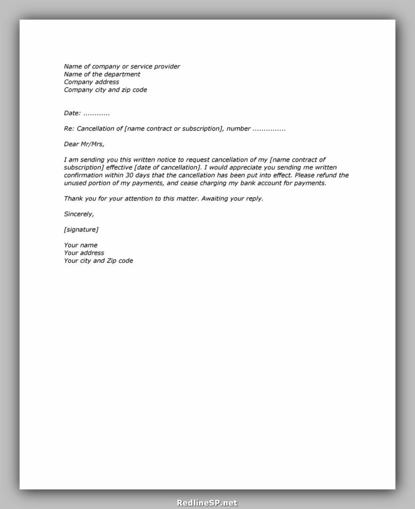 cancellation letter 06