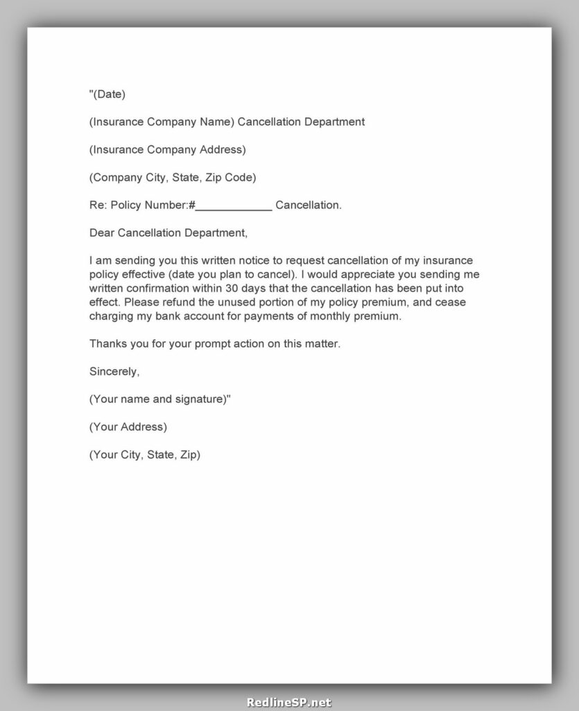 cancellation letter example 24