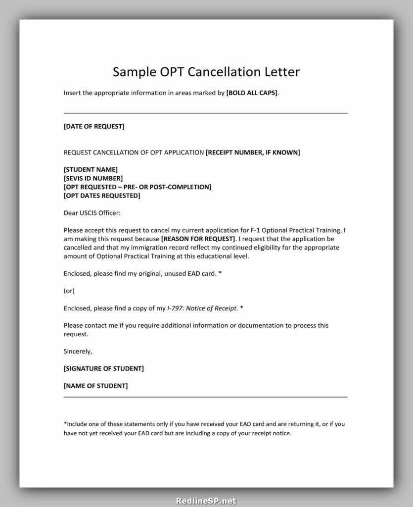 cancellation letter sample 36