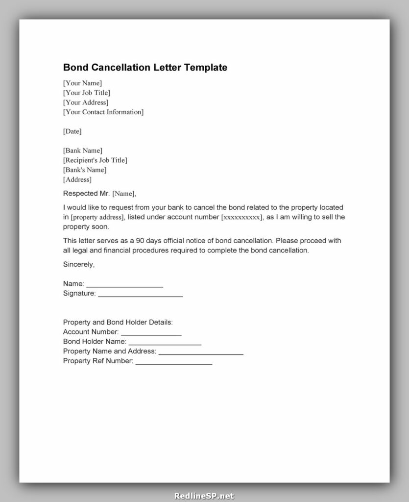 cancellation letter template 14