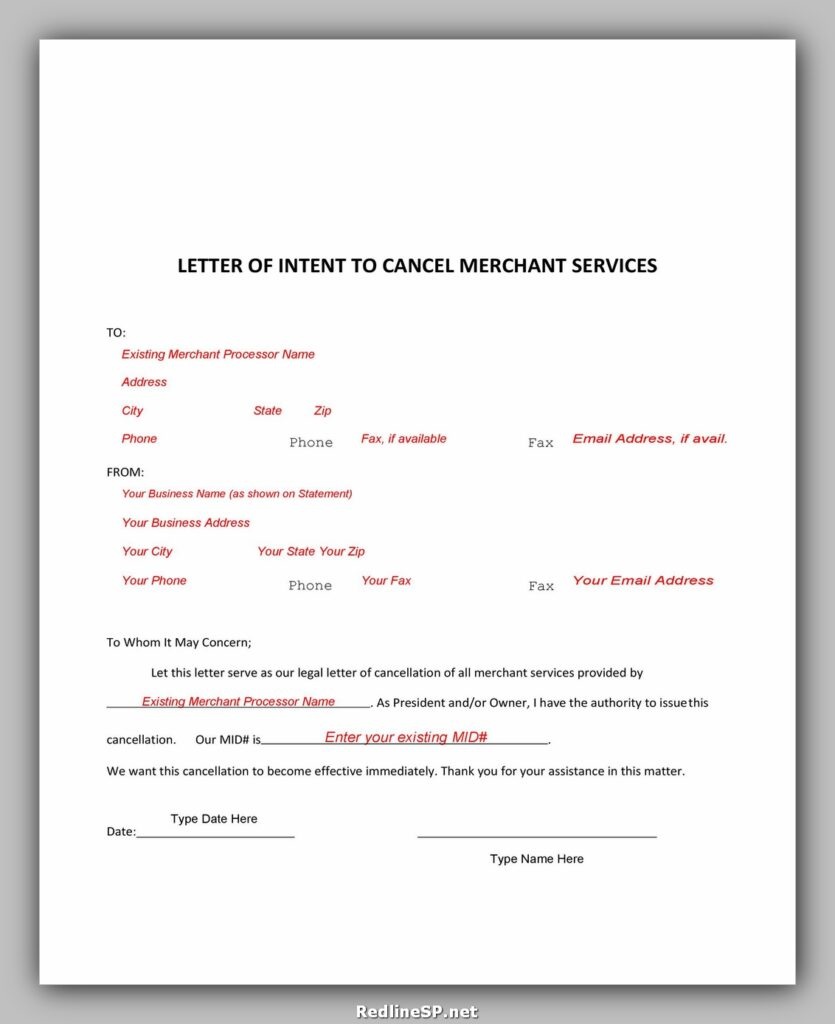 cancellation letter template 17