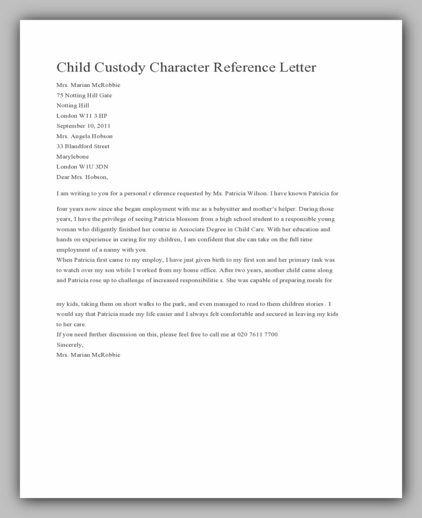 character reference letter 09