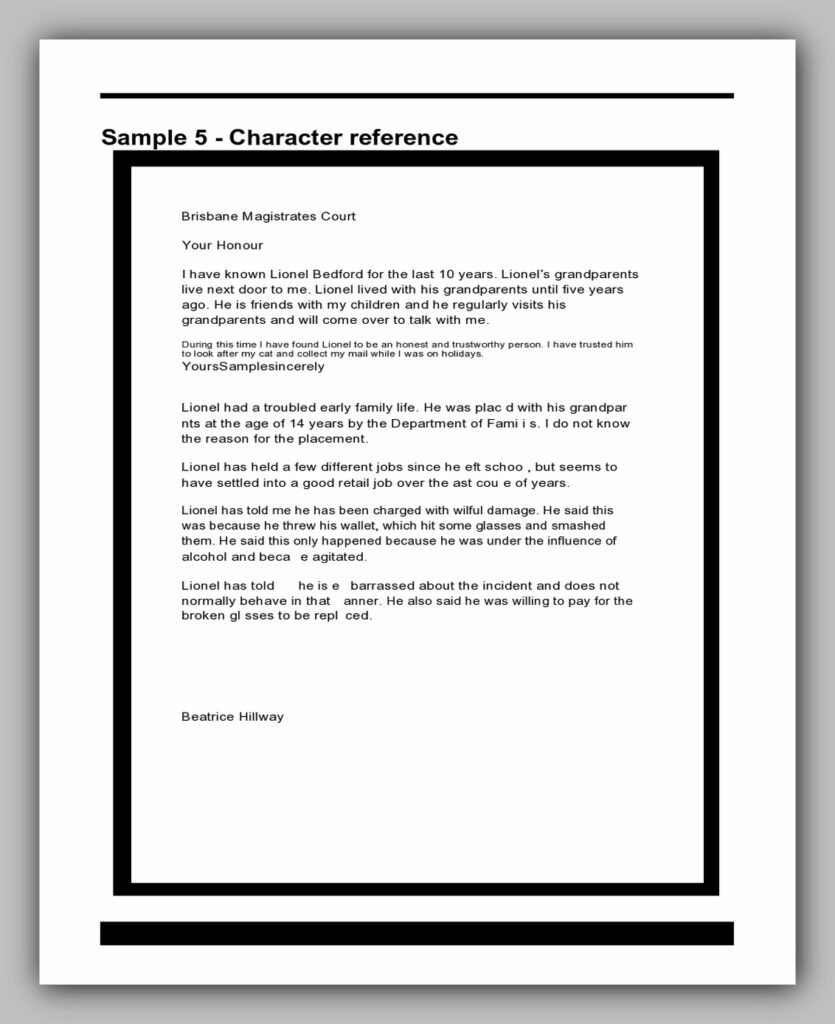 character reference letter 24