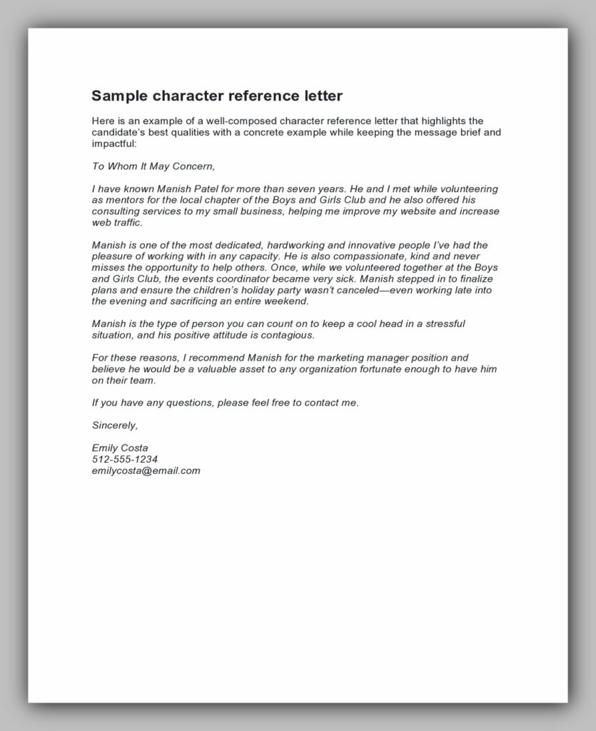 character reference letter 29