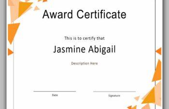 award certificate template 01