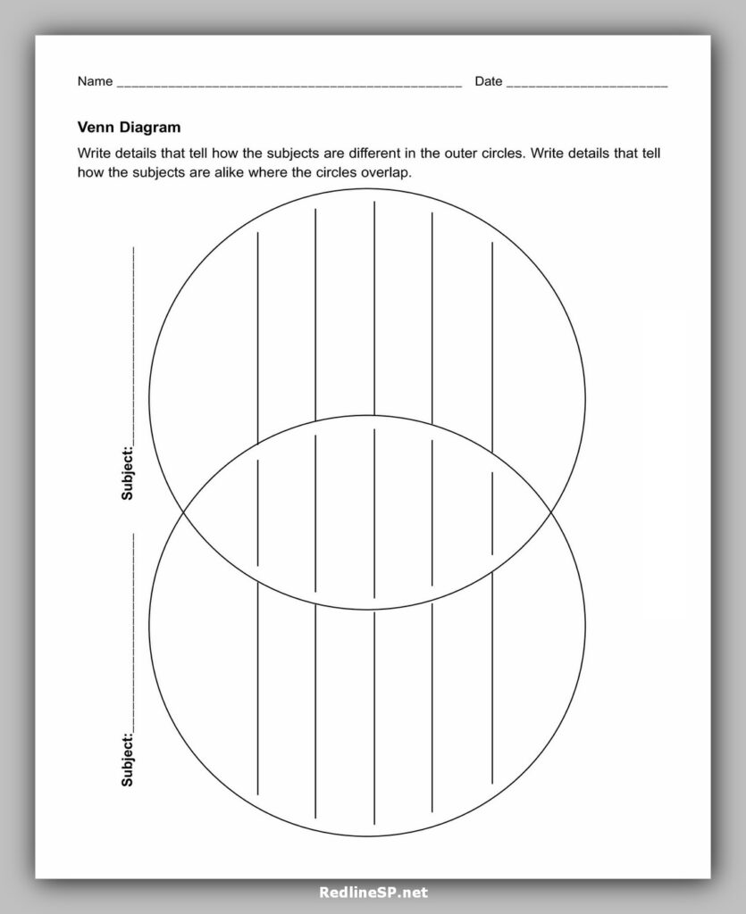venn diagram template 02