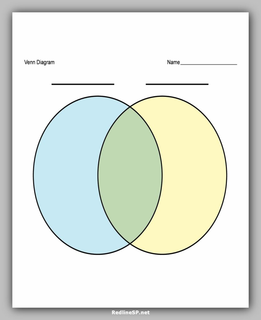 venn diagram template 07