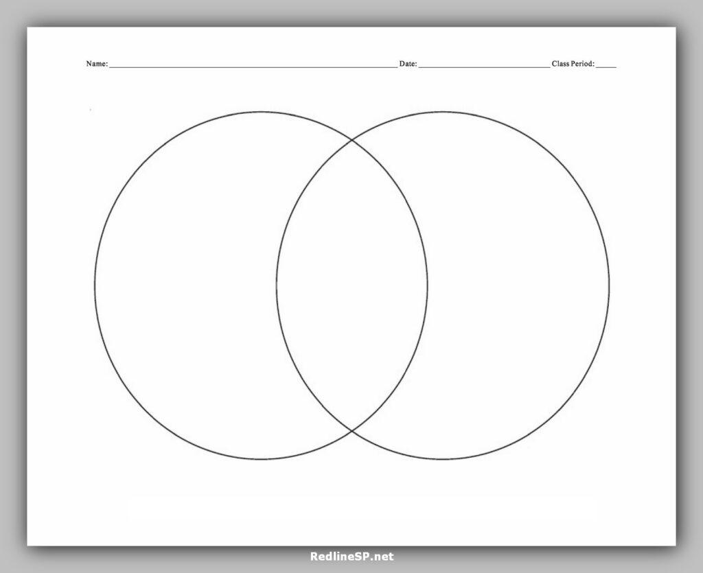Venn Diagram Character Template Free