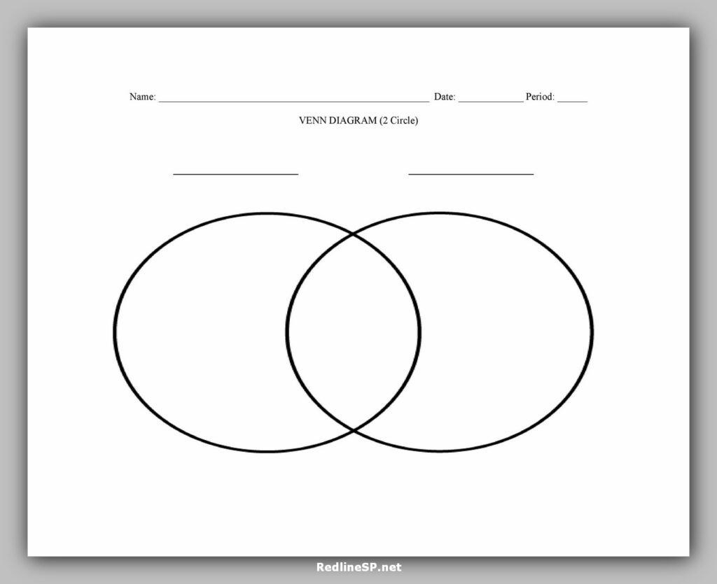 Venn Diagram Character 2 Circle