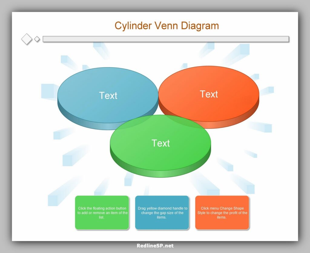 Cylinder Venn Diagram Template