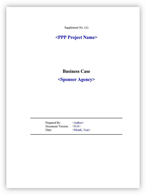 Business Case Template 26
