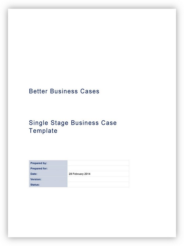Business Case Template 29